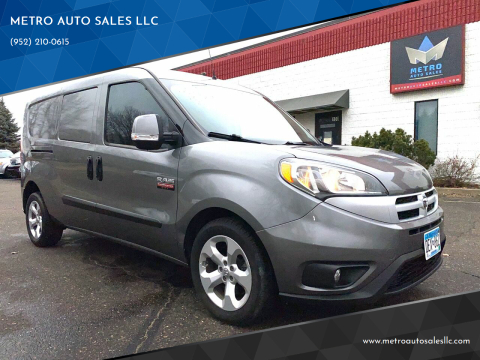 2015 RAM ProMaster City Cargo for sale at METRO AUTO SALES LLC in Blaine MN