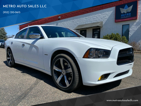 2011 Dodge Charger for sale at METRO AUTO SALES LLC in Blaine MN
