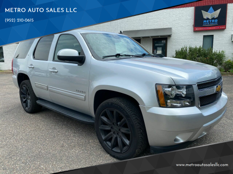 2014 Chevrolet Tahoe for sale at METRO AUTO SALES LLC in Blaine MN