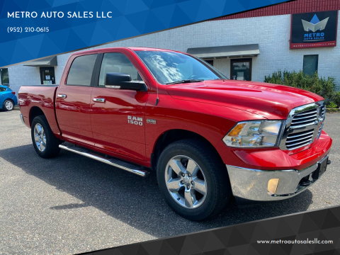 2017 RAM Ram Pickup 1500 for sale at METRO AUTO SALES LLC in Blaine MN