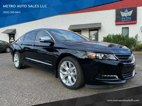 2015 Chevrolet Impala for sale at METRO AUTO SALES LLC in Blaine MN
