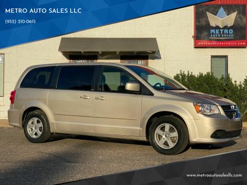 2012 Dodge Grand Caravan for sale at METRO AUTO SALES LLC in Blaine MN