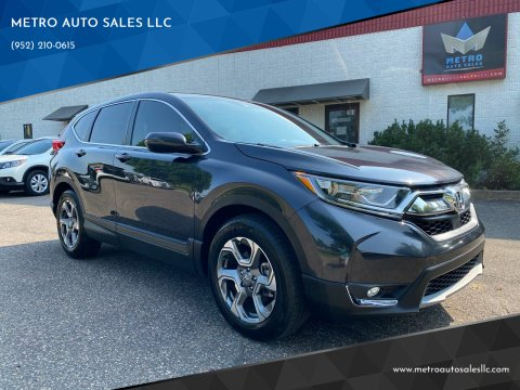 2019 Honda CR-V for sale at METRO AUTO SALES LLC in Blaine MN