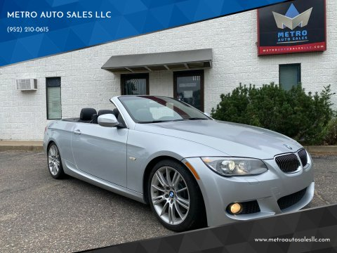 2013 BMW 3 Series for sale at METRO AUTO SALES LLC in Blaine MN