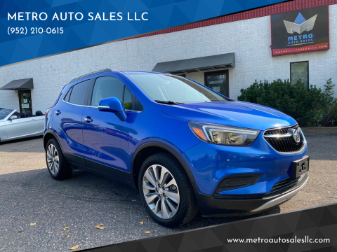 2017 Buick Encore for sale at METRO AUTO SALES LLC in Blaine MN