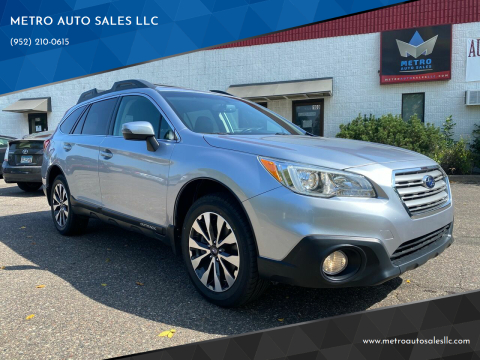 2016 Subaru Outback for sale at METRO AUTO SALES LLC in Blaine MN