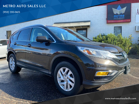 2016 Honda CR-V for sale at METRO AUTO SALES LLC in Blaine MN