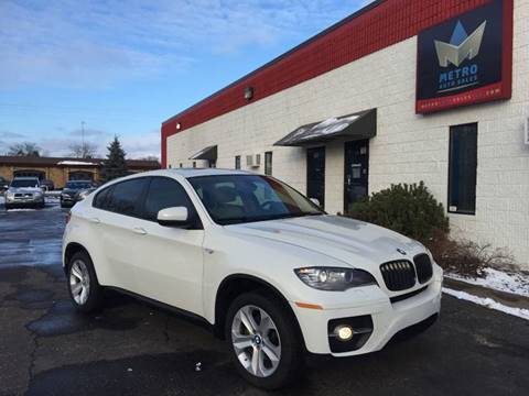 2011 BMW X6 for sale at METRO AUTO SALES LLC in Blaine MN