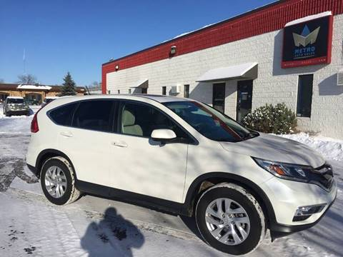 2015 Honda CR-V for sale at METRO AUTO SALES LLC in Blaine MN