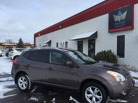 2008 Nissan Rogue for sale at METRO AUTO SALES LLC in Blaine MN