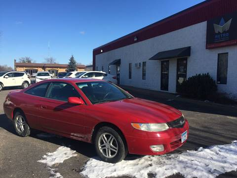 2001 Toyota Camry Solara for sale at METRO AUTO SALES LLC in Blaine MN