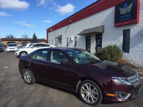 2011 Ford Fusion for sale at METRO AUTO SALES LLC in Blaine MN