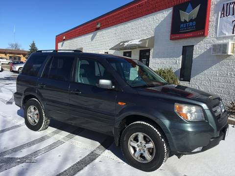 2006 Honda Pilot for sale at METRO AUTO SALES LLC in Blaine MN