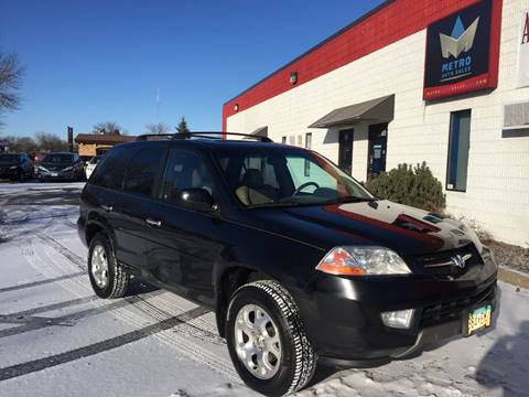 2001 Acura MDX for sale at METRO AUTO SALES LLC in Blaine MN
