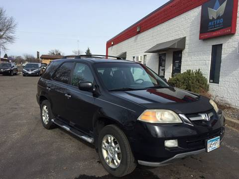 2006 Acura MDX for sale at METRO AUTO SALES LLC in Blaine MN