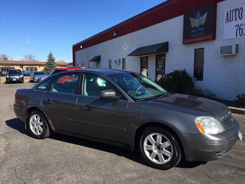 2006 Ford Five Hundred for sale at METRO AUTO SALES LLC in Blaine MN