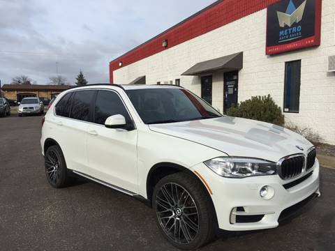 2015 BMW X5 for sale at METRO AUTO SALES LLC in Blaine MN