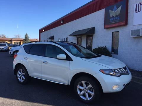 2010 Nissan Murano for sale at METRO AUTO SALES LLC in Blaine MN