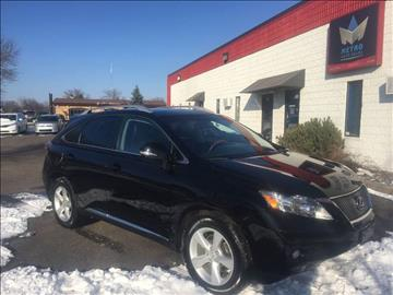 2011 Lexus RX 350 for sale at METRO AUTO SALES LLC in Blaine MN