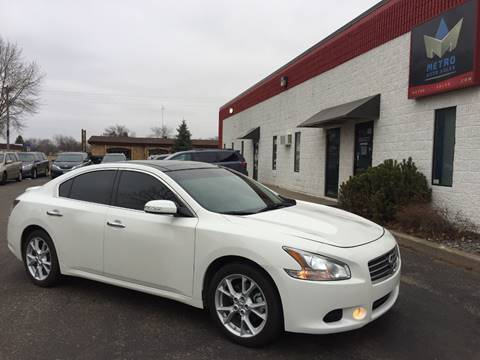 2014 Nissan Maxima for sale at METRO AUTO SALES LLC in Blaine MN