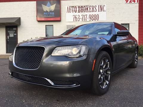 2016 Chrysler 300 for sale at METRO AUTO SALES LLC in Blaine MN