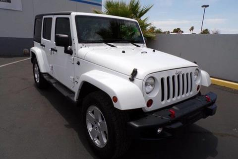 2011 Jeep Wrangler Unlimited for sale in Apache Junction, AZ