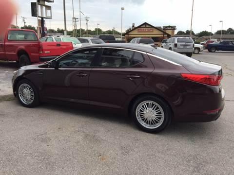2011 Kia Optima for sale in Shawnee, OK