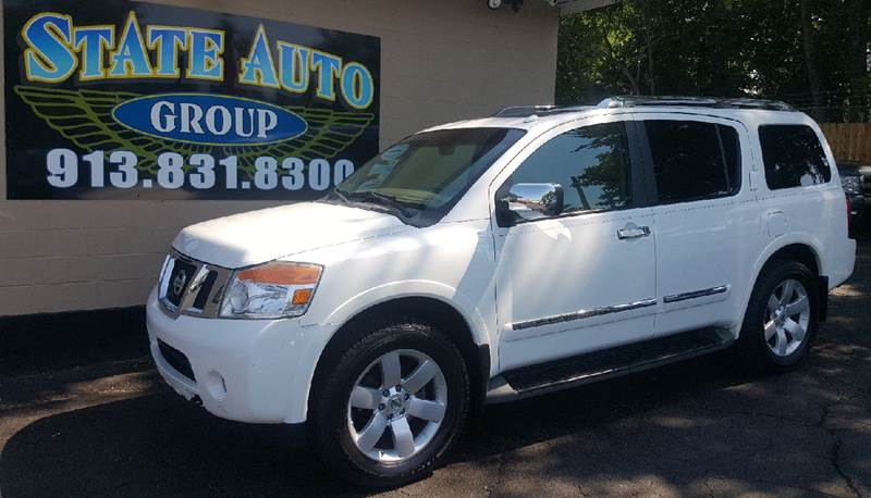 2011 Nissan Armada 4x4 Platinum 4dr SUV - Kansas City KS
