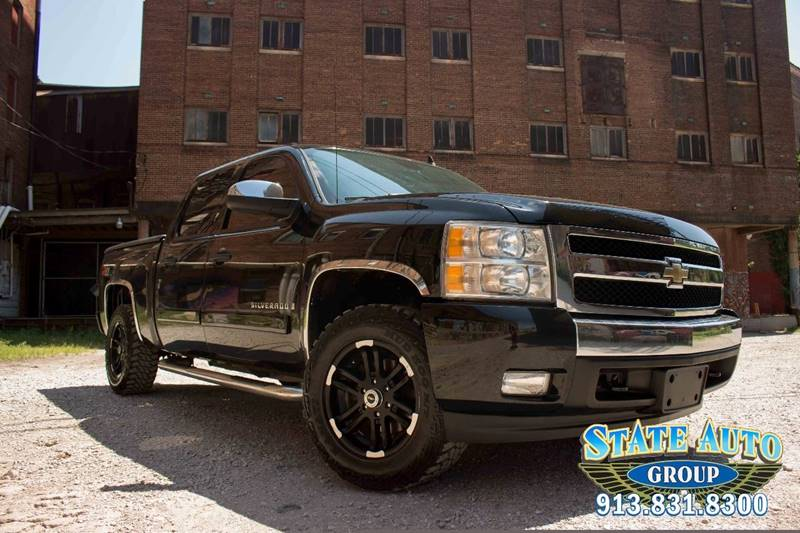 2007 Chevrolet Silverado 1500 LTZ 4dr Crew Cab 4WD 5.8 ft. SB - Kansas City KS