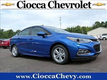 2016 Chevrolet Cruze for sale in Quakertown, PA