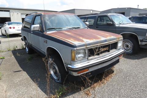 1986 GMC S-15 Jimmy for sale in Altavista, VA