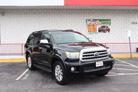 2010 Toyota Sequoia for sale at El Patron Trucks in Norcross GA