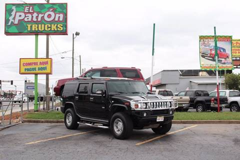 2006 HUMMER H2 for sale at El Patron Trucks in Norcross GA