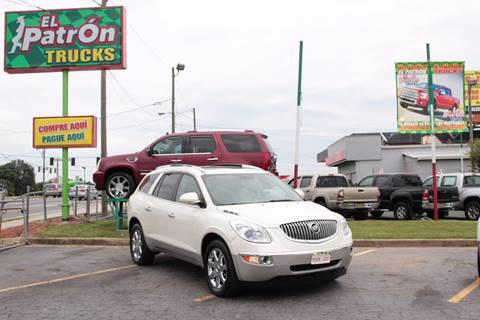 2009 Buick Enclave for sale at El Patron Trucks in Norcross GA