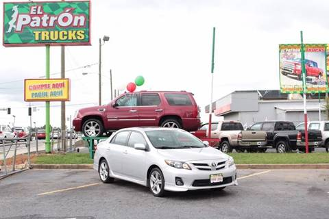 2013 Toyota Corolla for sale at El Patron Trucks in Norcross GA