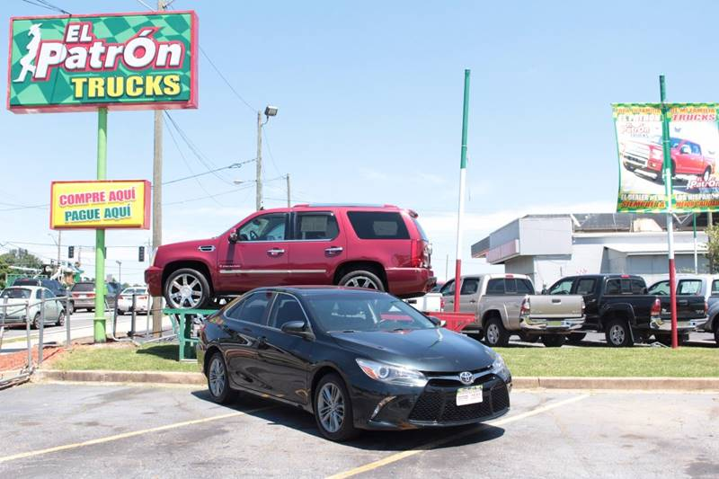 2015 Toyota Camry for sale at El Patron Trucks in Norcross GA