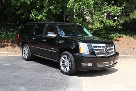 2012 Cadillac Escalade ESV for sale at El Patron Trucks in Norcross GA