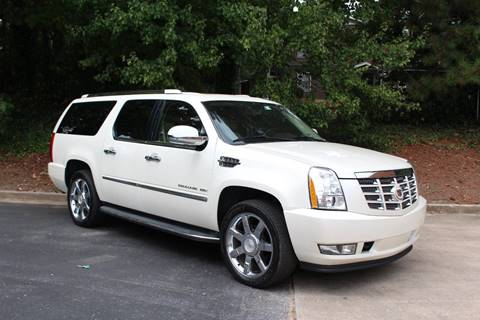 2011 Cadillac Escalade ESV for sale at El Patron Trucks in Norcross GA