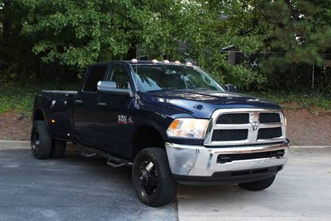 2016 RAM Ram Pickup 3500 for sale at El Patron Trucks in Norcross GA