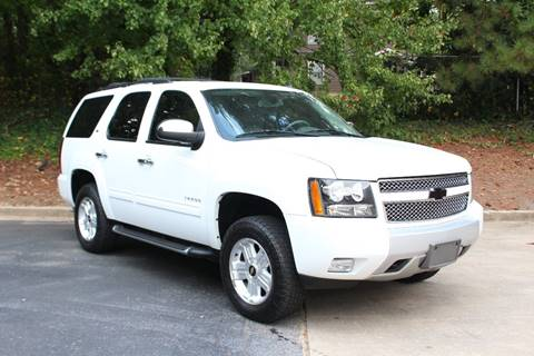 2013 Chevrolet Tahoe for sale at El Patron Trucks in Norcross GA