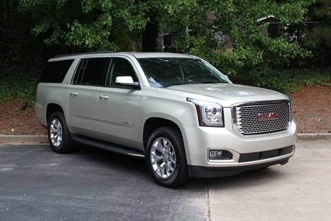 2015 GMC Yukon XL for sale at El Patron Trucks in Norcross GA