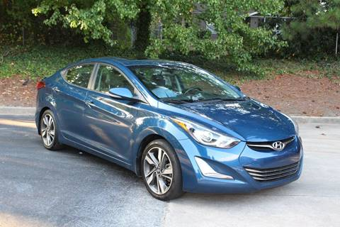 2015 Hyundai Elantra for sale at El Patron Trucks in Norcross GA