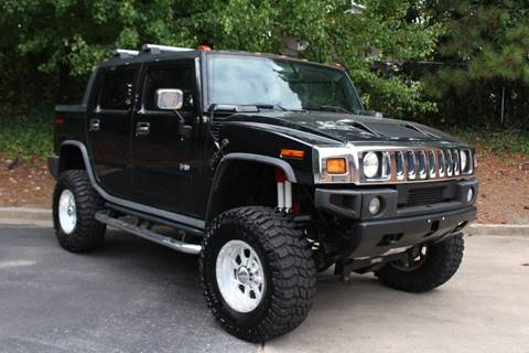 2005 HUMMER H2 SUT for sale at El Patron Trucks in Norcross GA