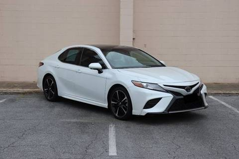 2018 Toyota Camry for sale at El Patron Trucks in Norcross GA