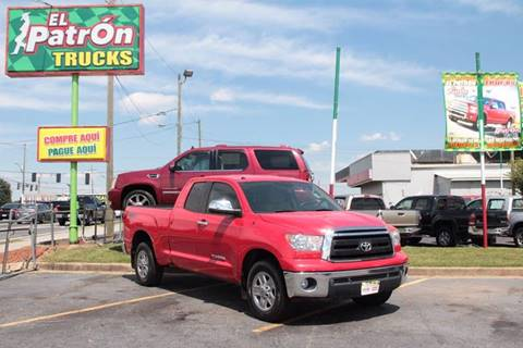 2012 Toyota Tundra for sale at El Patron Trucks in Norcross GA