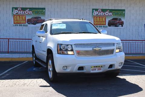 used chevrolet avalanche for sale in norcross ga. Black Bedroom Furniture Sets. Home Design Ideas