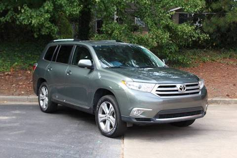 2013 Toyota Highlander for sale at El Patron Trucks in Norcross GA