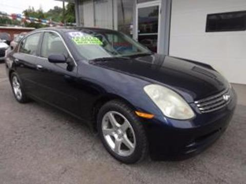 2004 Infiniti G35 for sale in Martins Ferry, OH