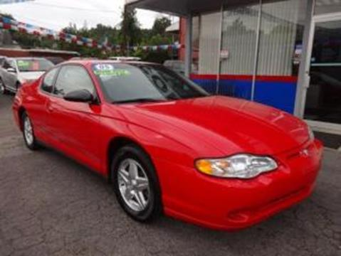 2005 Chevrolet Monte Carlo for sale in Martins Ferry, OH