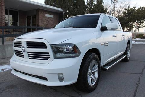 2013 RAM Ram Pickup 1500 for sale at Motor City Idaho in Pocatello ID